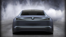 BMW GCS: Das Heck