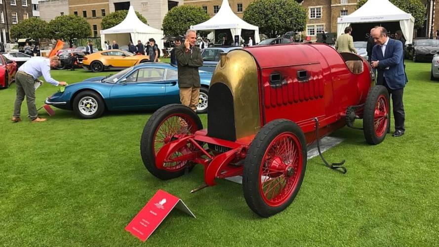 Une antique FIAT de 1911 distinguée lors du Concours de Londres