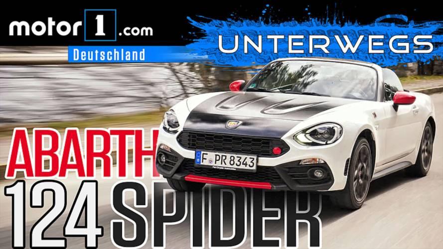 Der bessere MX-5?: Abarth 124 Spider | UNTERWEGS mit Daniel Hohmeyer