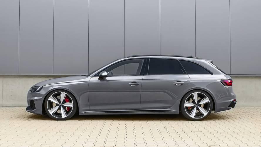 Zweierlei Fahrwerkstuning für den Audi RS 4 Avant