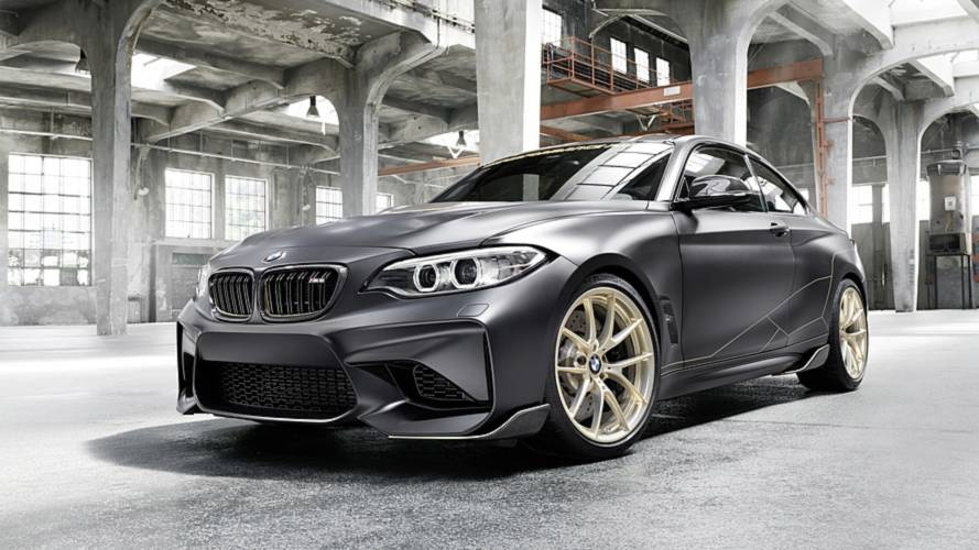 BMW M Performace Parts Concept, la M2 messa a dieta