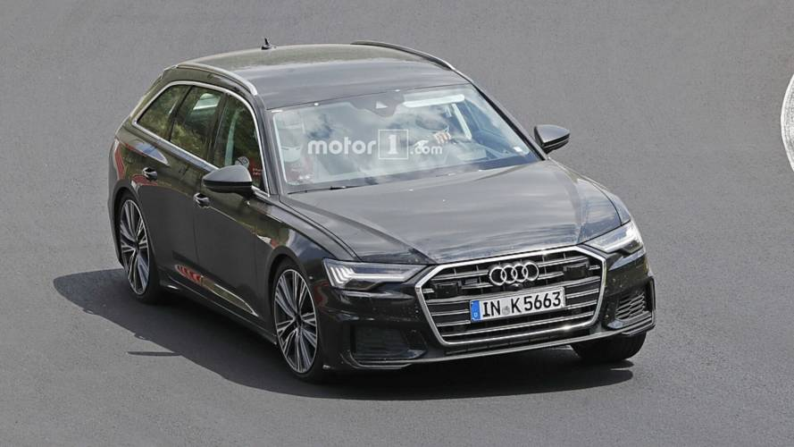 New Audi S6 Avant spotted without any camouflage