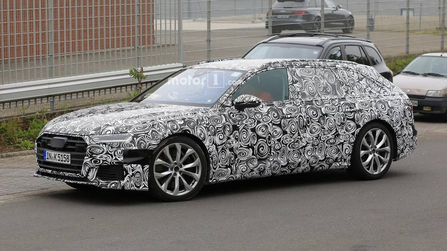 New Audi S6 Avant Caught Making Generous Use Of Camouflage