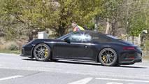 Porsche 911 Speedster'ın Casus Fotoğrafları