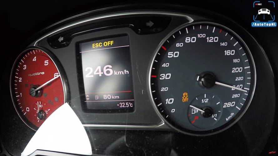 380 beygirlik Audi A1 Quattro'nun hızlanmasını izleyin