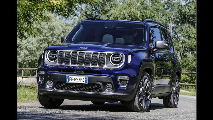 Gelifteter Jeep Renegade im Test