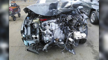 Honda Civic Type R Crash