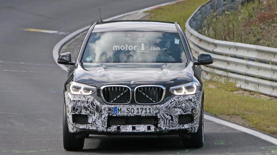 BMW X3 M 2018, fotos espía