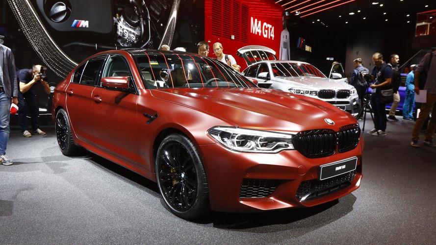 VIDÉO - La BMW M5 est de sortie à Francfort