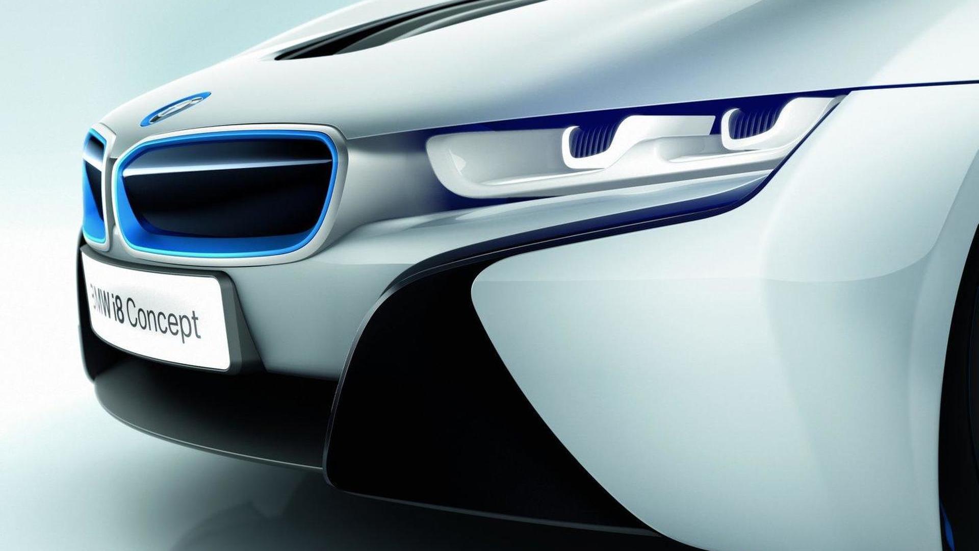 BMW i8 concept\'s laser lights - new details