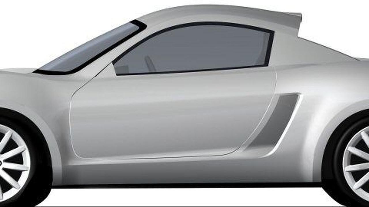 Three Stillborn MG Sports Car Development Sketches Uncovered ...
