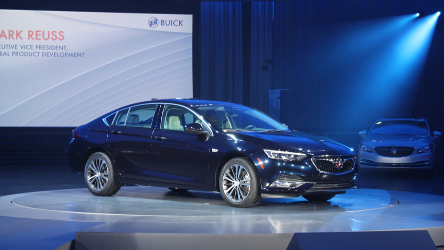 2018 Buick Regal GS V6 yanlışlıkla sızdı
