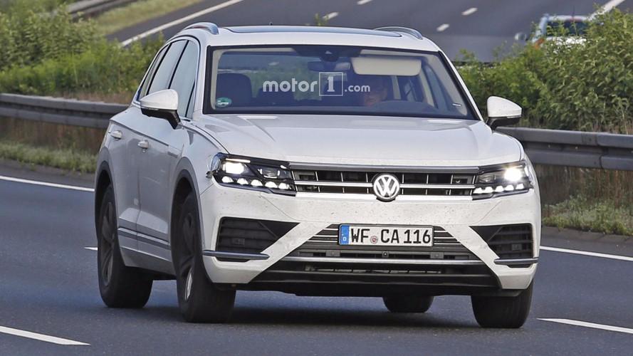 2018 VW Touareg nouvelles images espion