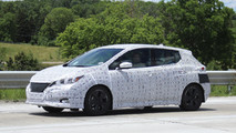 2018 Nissan Leaf casus fotoğrafları