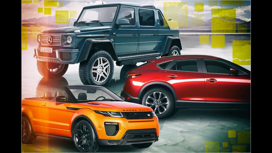 Autos, auf die die Welt nicht gewartet hat