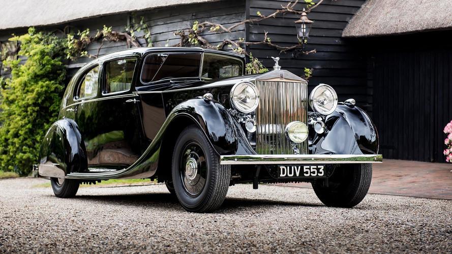 1936 model bu Rolls-Royce, yeni nesil lansmanında boy gösterecek