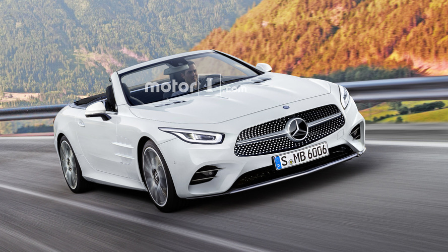 Mercedes SL To Lose Hardtop, Gain Rear Seats In 2021