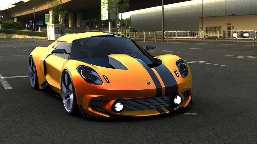 De nouveaux rendus néo-rétro de la future Lotus Elise !