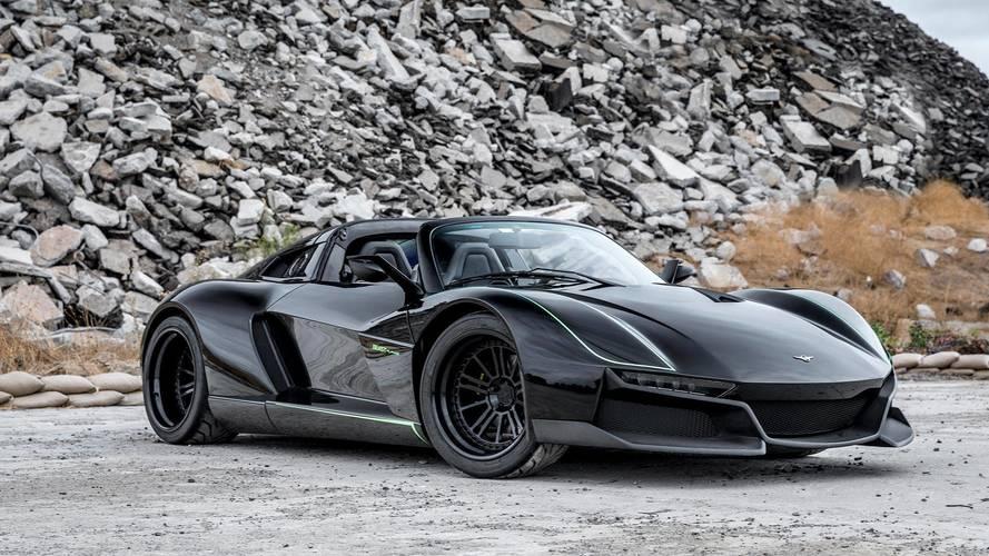 Rezvani'nin yeni süper otomobili hayalet uçaklara benziyor