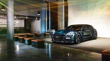 La Porsche Panamera Sport Turismo s'ensauvage grâce à TechArt