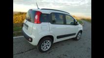 Fiat Panda a metano, test di consumo reale Roma-Forlì 009