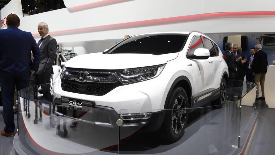 Ginebra 2018: Honda CR-V 2018, un SUV que se pasa al híbrido