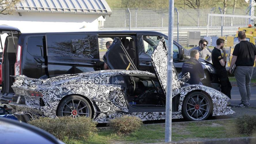 Lamborghini Aventador Superveloce Jota new spy photos