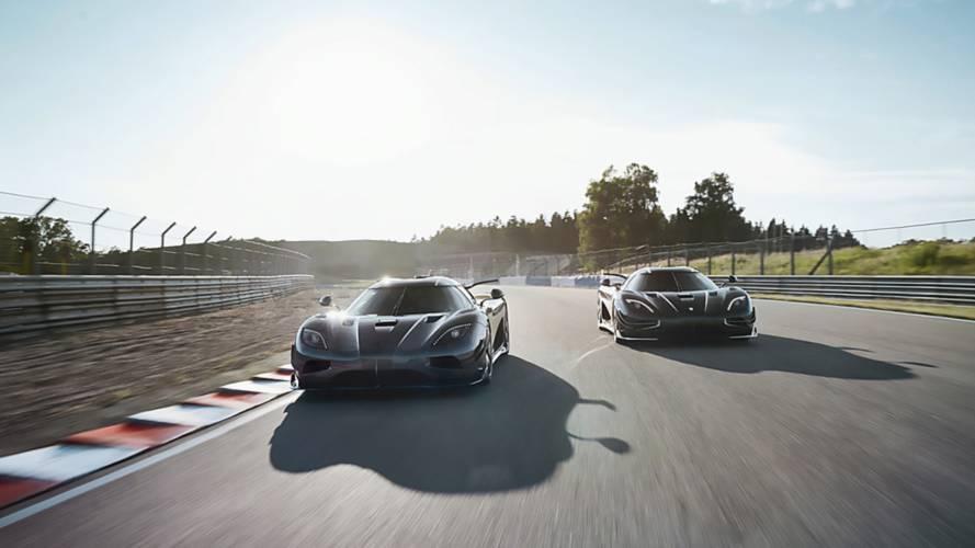 Aquí tienes los dos últimos Koenigsegg Agera: Thor y Väder