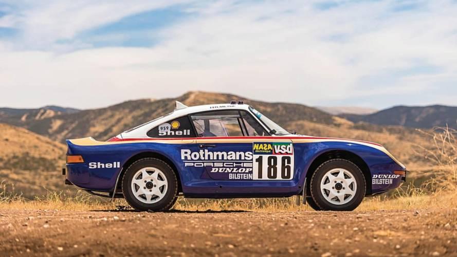 Une Porsche 959 du Paris-Dakar va être mise aux enchères