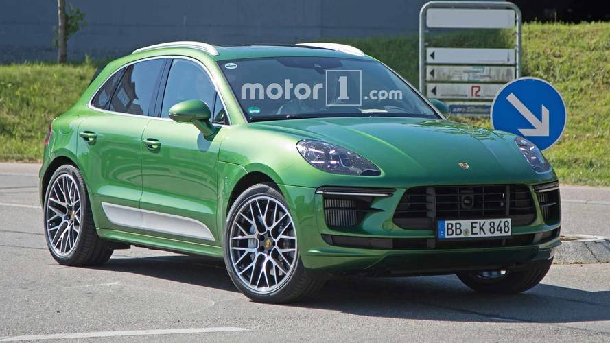 2019 porsche macan facelift getting more power across the range. Black Bedroom Furniture Sets. Home Design Ideas