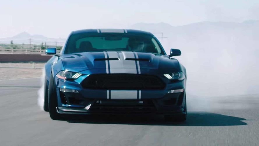 2018 Mustang Shelby Super Snake'in yeni reklam filmi yayınlandı