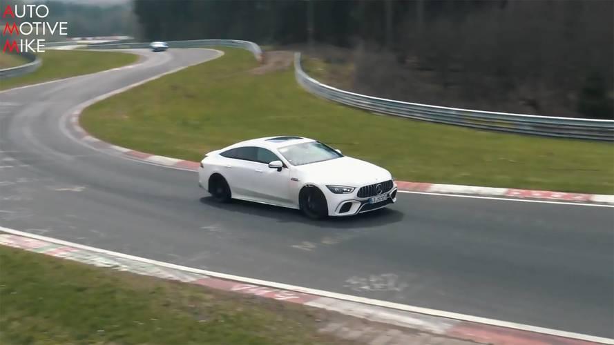 Mercedes-AMG, GT 63'ü test etmeye devam ediyor