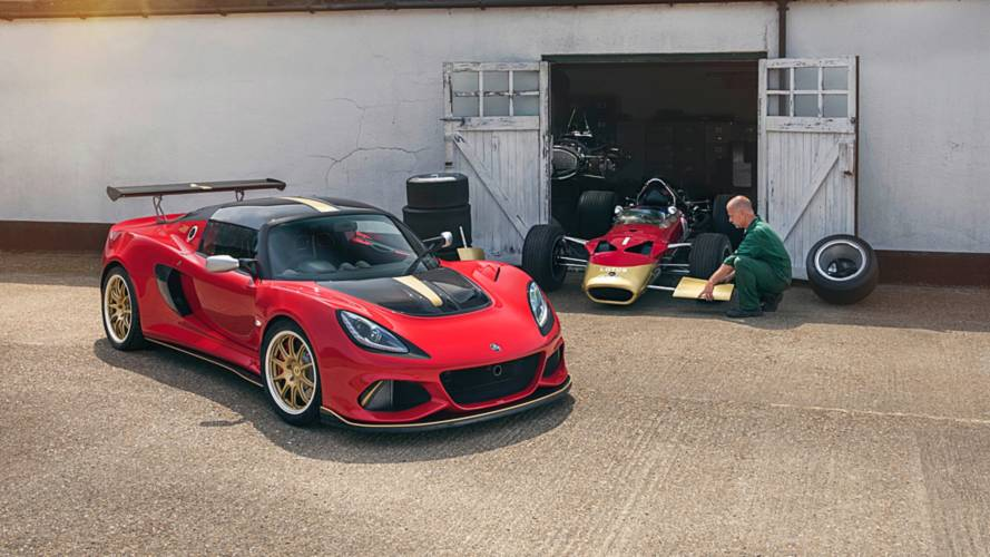 Lotus Exige special editions honour classic racing cars