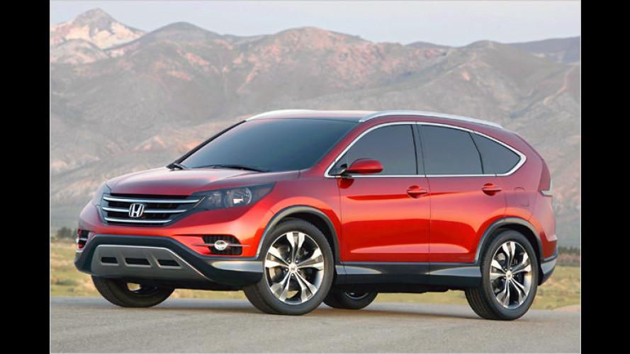Schwungvoller und aggressiver: Der neue Honda CR-V