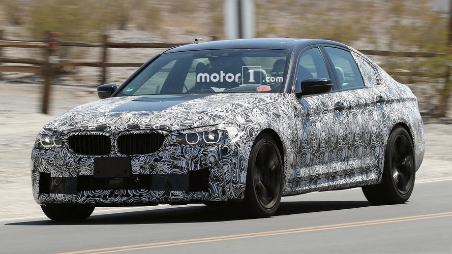 Yeni BMW M5, çölde gezinirken yakalandı
