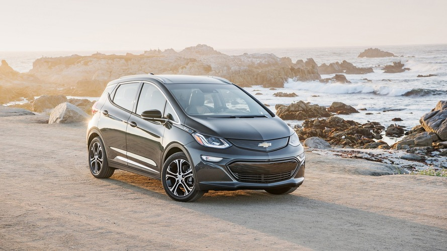 Chevy Bolt named 2017 North American Car of the Year
