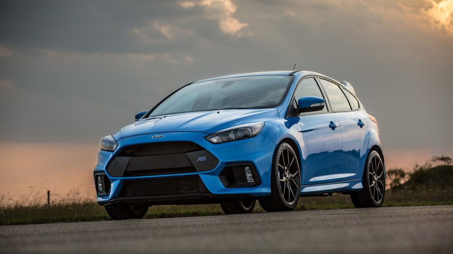 Hennessey tunes the Ford Focus RS to 405 hp