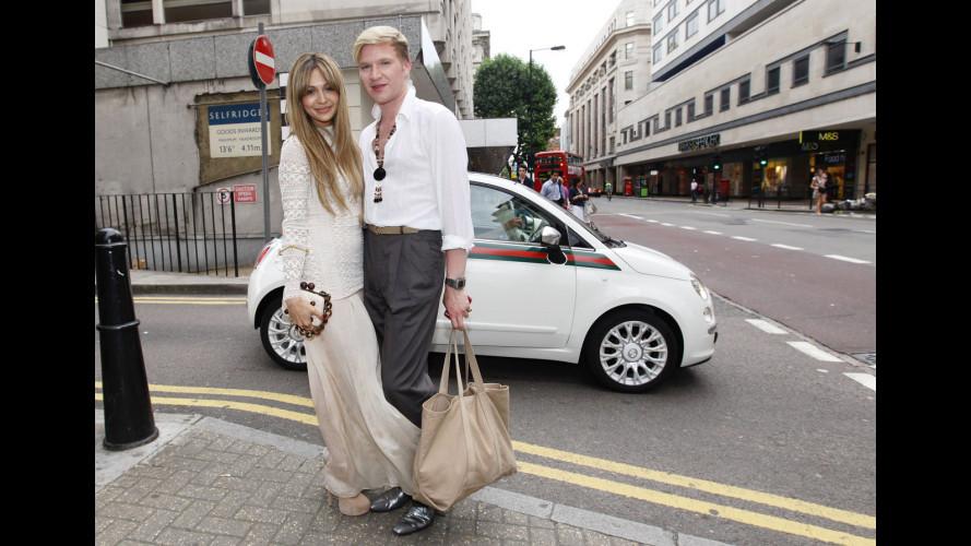 Fiat 500 by Gucci è arrivata a Londra