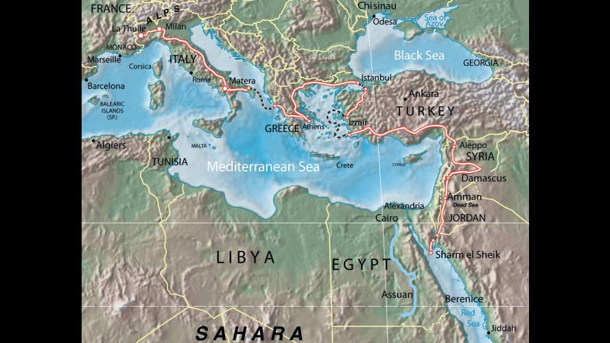 Donnavventura ha raggiunto la penisola del Sinai