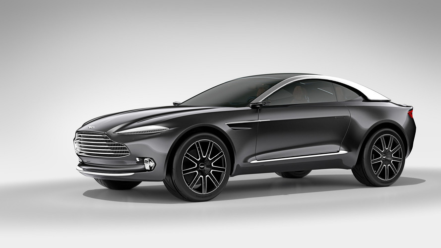 Aston Martin SUV Could Have Over 700 Horsepower