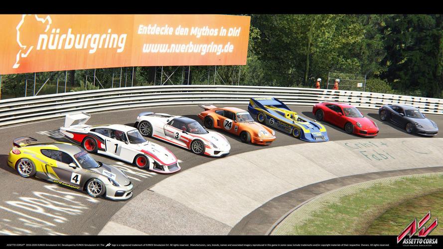 Porsche simülasyon dünyasına Assetto Corsa ile dönüş yaptı