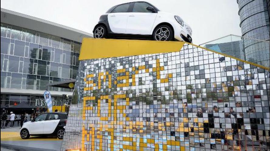 Motor Show, smart porta a Bologna il concorso