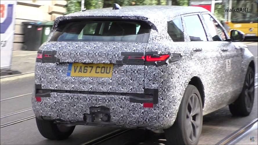 Kazalı Range Rover Evoque Prototipi