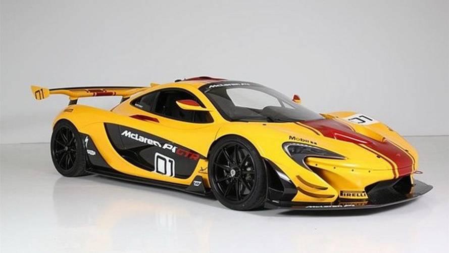 El primer McLaren P1 GTR fabricado está matriculado y a la venta