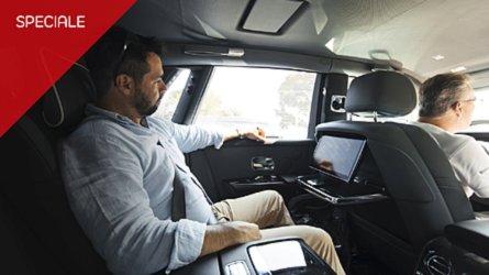Rolls-Royce Phantom, la prova da... passeggero
