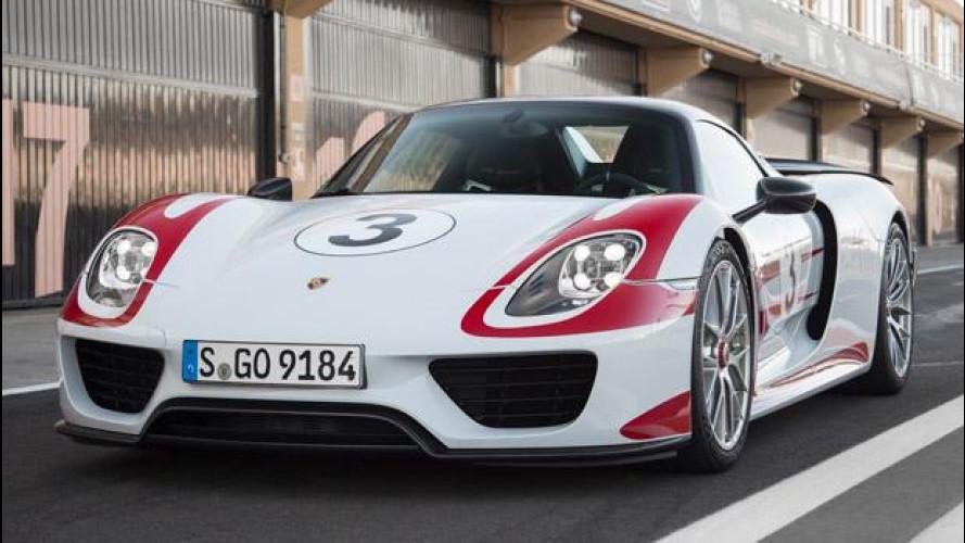 Porsche 918 spyder prezzi e optional da capogiro italia - Porche da letto ...