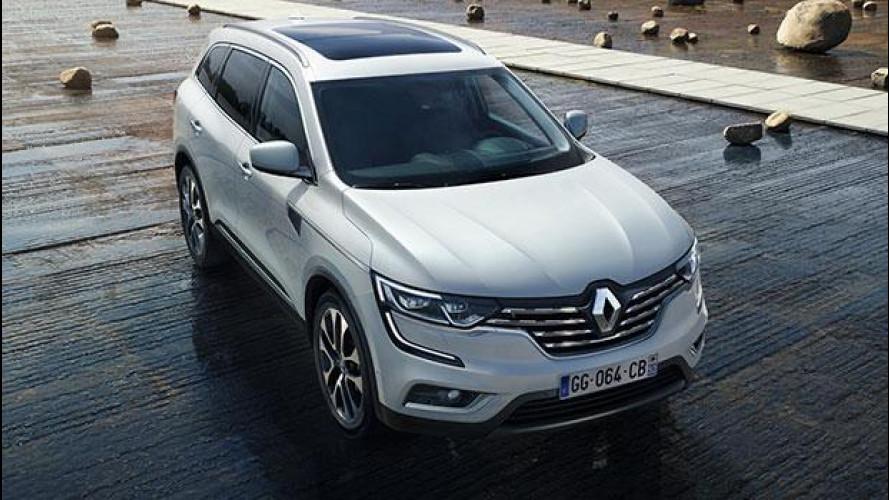 Nuovo Renault Koleos, l'alto di gamma francese è completo