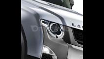 Nuova Land Rover Defender, il rendering