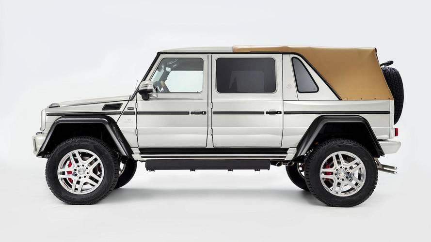 1.4 millió dollárért kelt el az utolsó Mercedes-Maybach G650 Landaulet