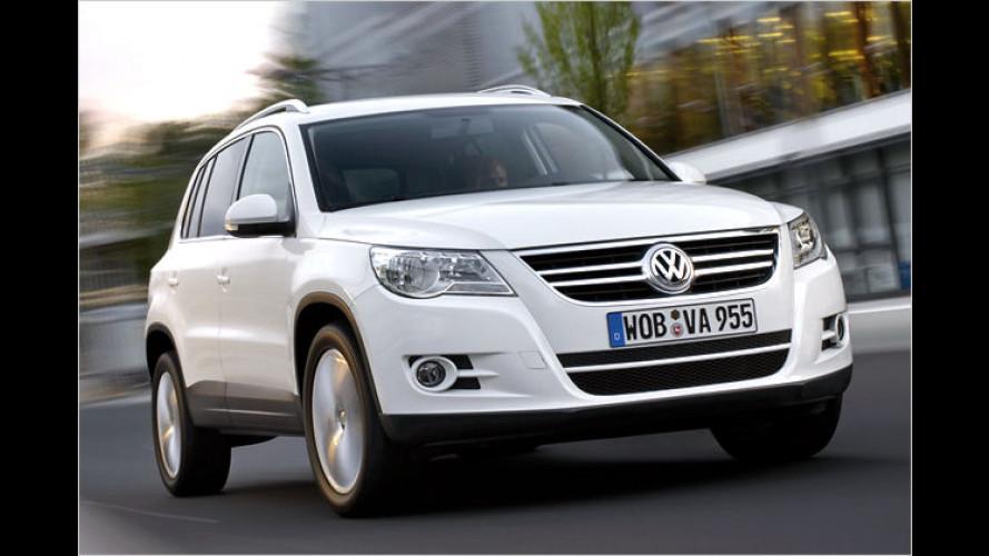 VW Tiguan: Ab sofort auch mit Frontantrieb zu haben